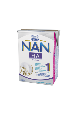 Nestlé Nan 200ml HA 1 maitopohjainen käyttövalmis...
