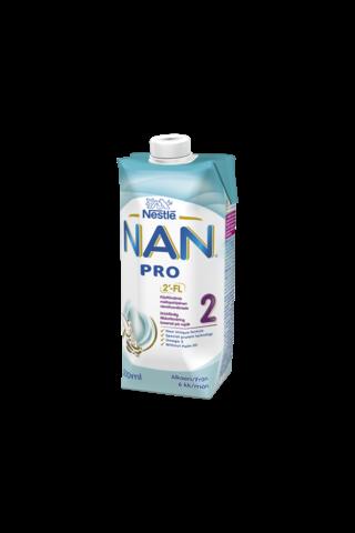 Nestlé Nan 500ml Pro 2 maitopohjainen käyttövalmis...