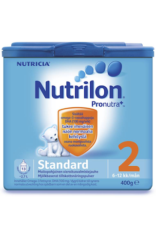 Nutricia Nutrilon 400g Standard 2 vieroitusvalmistejauhe 6-12kk
