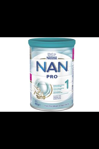 Nestlé Nan 400g Pro 1 maitopohjainen äidinmaidonkorvike