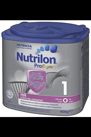 Nutricia Nutrilon 400g HA 1 äidinmaidonkorvikejauhe...
