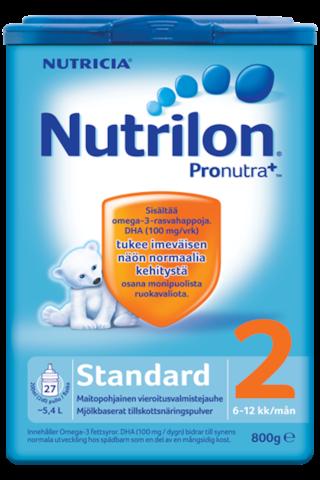 Nutricia Nutrilon 800g Standard 2 maitopohjainen...