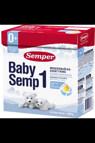 Semper BabySemp1 500g Maitopohjainen äidinmaidonkorvike...