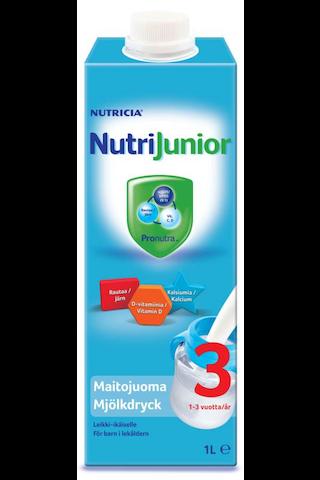 Nutricia 1l NutriJunior 3 maitojuoma 1-3...