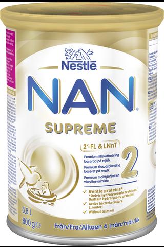 Nestlé NAN 800g Supreme 2 premium maitopohjainen...