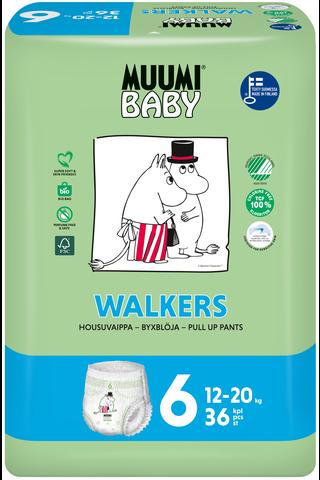 Muumi Baby Walkers housuvaippa 6 –...