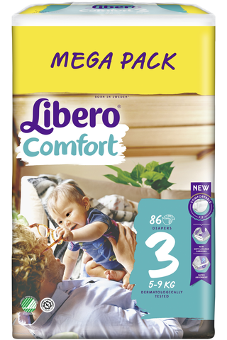 Libero Comfort teippivaippa koko 3, 5-9 kg,...