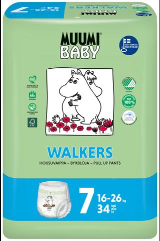 Muumi Baby Walkers housuvaippa 7 –...