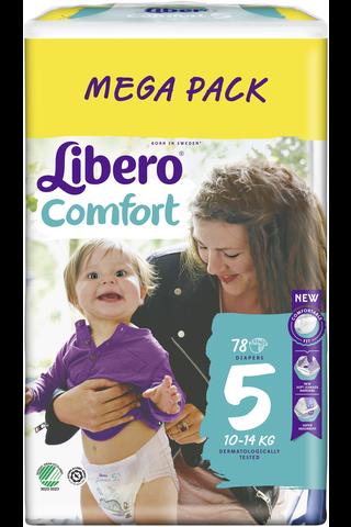 Libero Comfort teippivaippa koko 5, 10-14...
