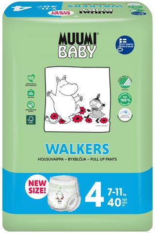 Muumi Baby Walkers housuvaippa 4 –...