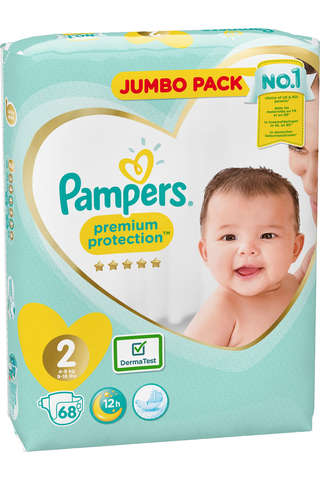 Pampers 68kpl Premium Protection New Baby...