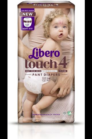 Libero Touch housuvaippa koko 4, 7-11 kg,...