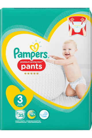 Pampers 35kpl Premium Protection Pants S3...