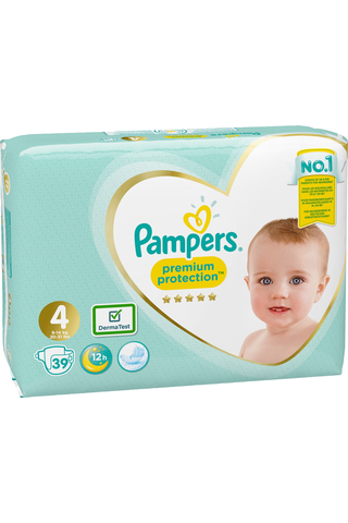 Pampers 39kpl Premium Protection S4 9-14kg...