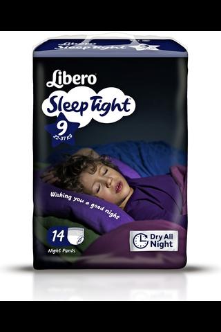 Libero SleepTight 9 Housuvaippa 14kpl 20-37kg