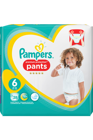 Pampers 28kpl Premium Protection Pants S6...
