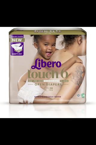 Libero Touch teippivaippa koko 6, 13-20kg...
