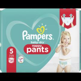 Pampers 37kpl Baby Dry Pants S5 12-17kg housuvaippa