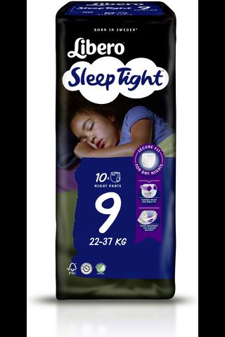Libero 10 kpl SleepTight 9, 22-37kg