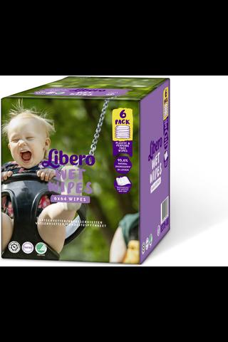 Libero puhdistuspyyhe 384 kpl, 6-pack