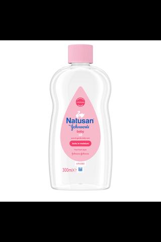 Natusan by Johnson's Baby Oil hoitoöljy...
