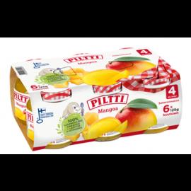 Piltti Mangoa hedelmäsose 4kk 6x125g
