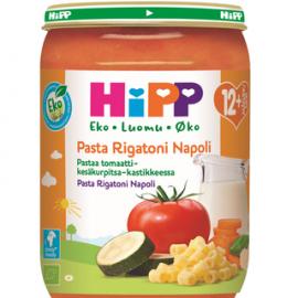 HiPP 220g Luomu Pastaa Tomaatti-kesäkurpitsakastikkeessa...
