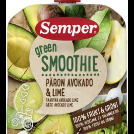 Semper 90g Green Smoothie Päärynä, avokado...