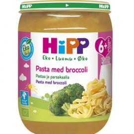 HiPP Luomu Pastaa & Parsakaalia 6kk...