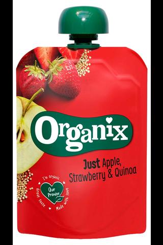 Organix Just Omena, mansikka & kvinoa...