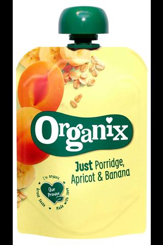 Organix Just Puuro, aprikoosi & banaani...