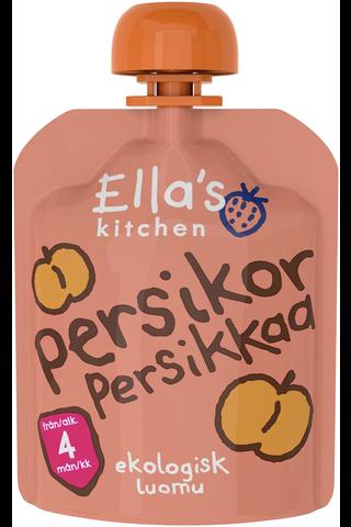 70g Ella's Kitchen Persikkaa persikkasose,...