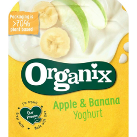 Organix Jogurtti, omena & banaani 100g...