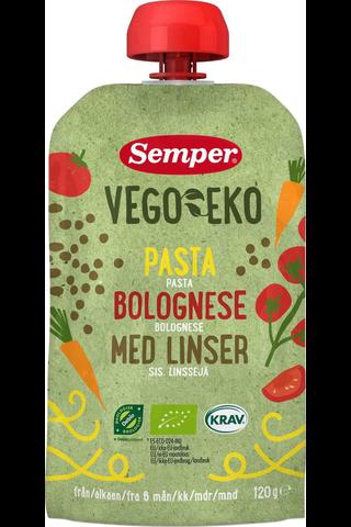 Semper Vego EKO Luomu pasta bolognese sis...