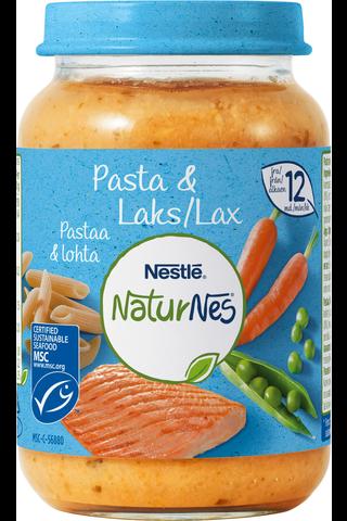 Nestlé NaturNes 190g Pastaa, lohta ja kasviksia...