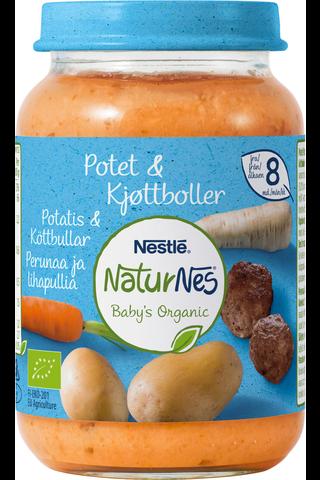 Nestlé NaturNes 190g Luomu Perunaa ja lihapullia...