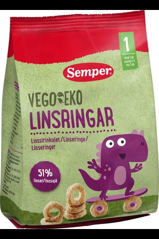 Semper Vego EKO Luomu Linssirinkulat 50g,...