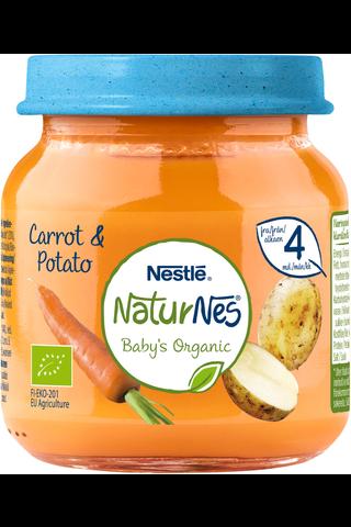 Nestlé NaturNes 125g Luomu Porkkana-perunasose...