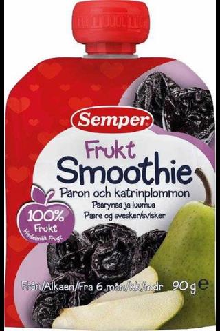 Semper 90g Smoothie Päärynää ja luumua,...