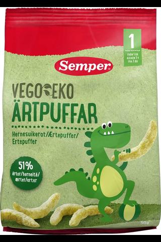 Semper Vego EKO Luomu Hernesuikerot 50g,...