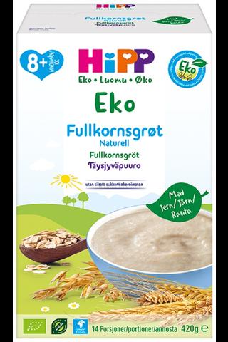 HiPP Luomu Täysjyväpuuro maustamaton 8kk...