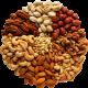 Kuivat hedelmät ja pähkinät